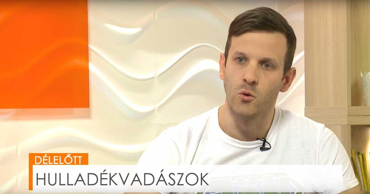Magyar Katolikus Televízió műsorán a Hulladékvadászat
