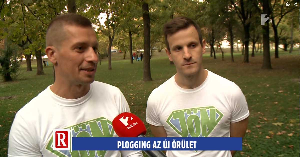 Tv2 Ripost bemutatja a JÖN ploggingot