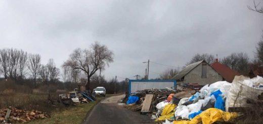 Terény község illegális hulladéktelepe