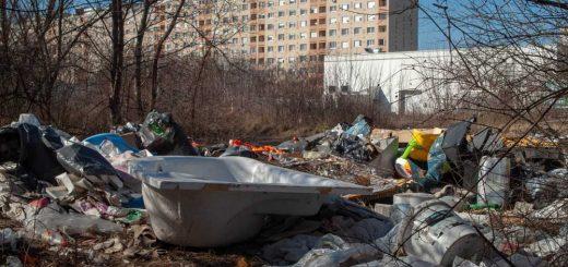 Rét, ami hulladéklerakóvá vált Újpalotán