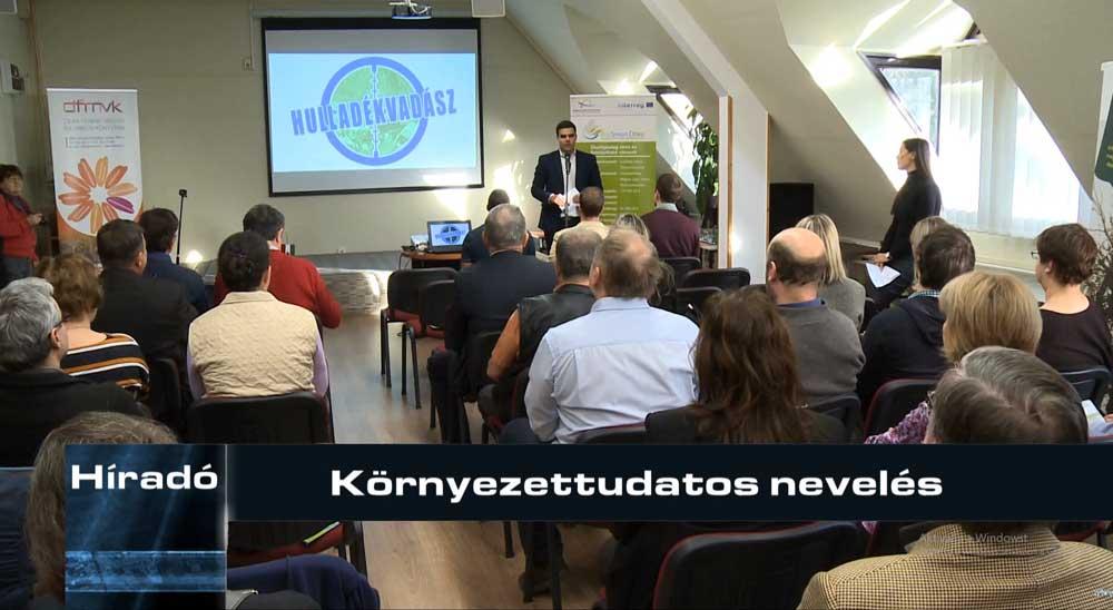 Gecse Péter, Zalaegerszeg alpolgármester beszéde közben. / Fotó: zegtv.hu