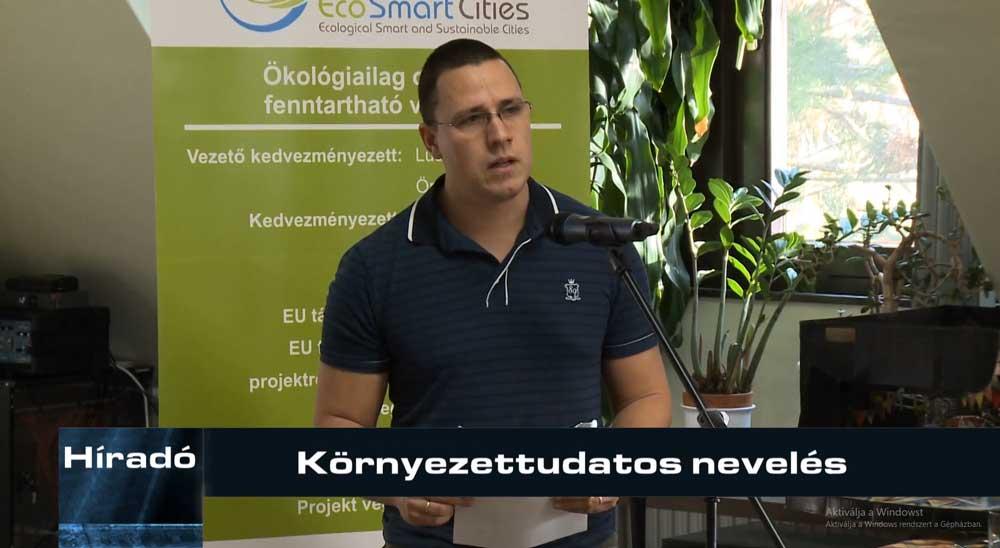 Katkó Lajos, természetvédelmi mérnök. / Fotó: zegtv.hu