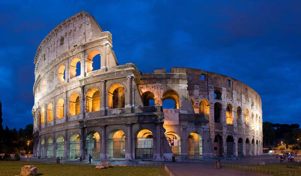 Roma városáról sokaknak a Colosseum jut elsőre eszébe nem a szemét. / Fotó: Wikipedia.