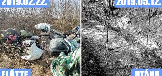 Természetbe hányt veszélyes hulladék | Zsáka-Furta