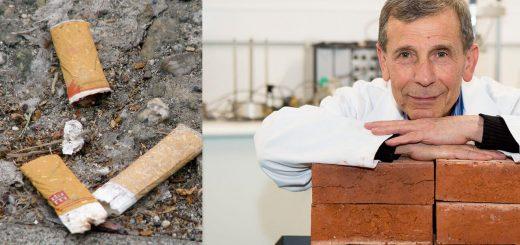 Cigicsikk újrahasznosítás: tégla készíthető filterekből