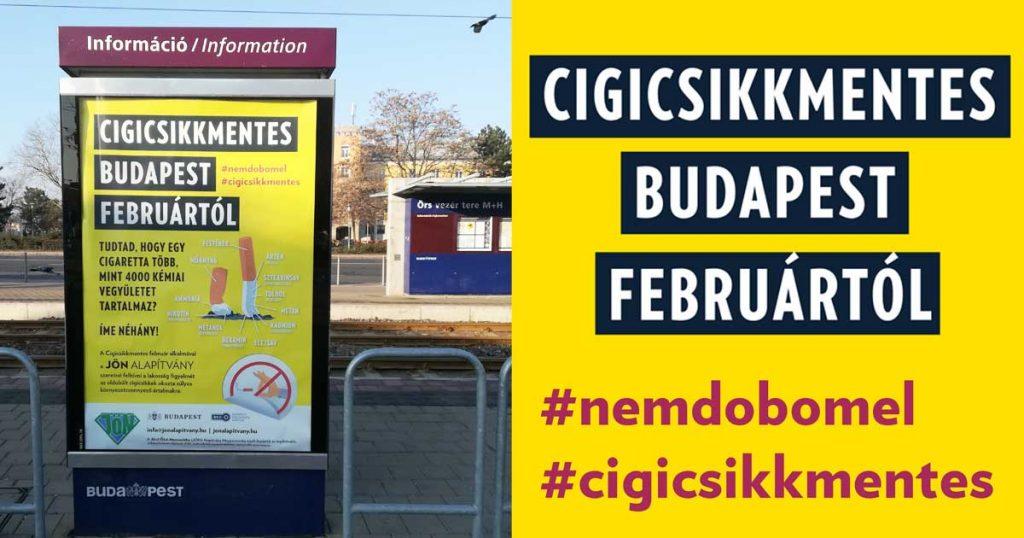 Cigicsikkmentes Budapest februártól BKK Zrt. támogatásával