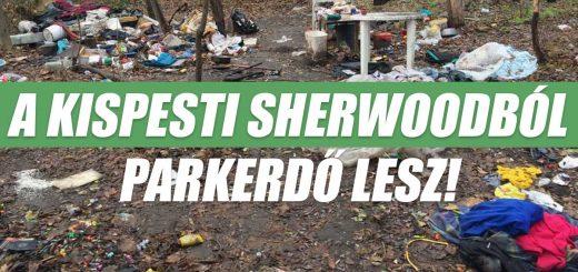 Kispesti Sherwood 2019-ben parkerdővé válik