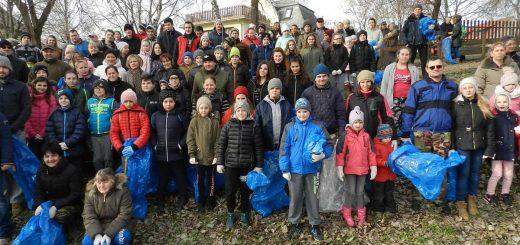 Tavaszi szemétszedés 100 fő részvételével Tiszaalpáron
