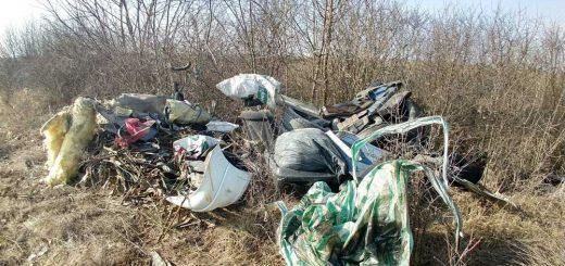 Természetbe hányt veszélyes hulladék   Zsáka-Furta