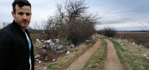 Műanyag zacskó katasztrófa Budapest mellett