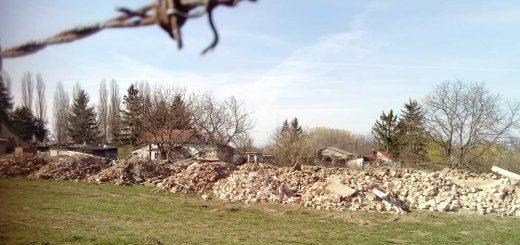 Debrecen kertváros építési hulladékhegye