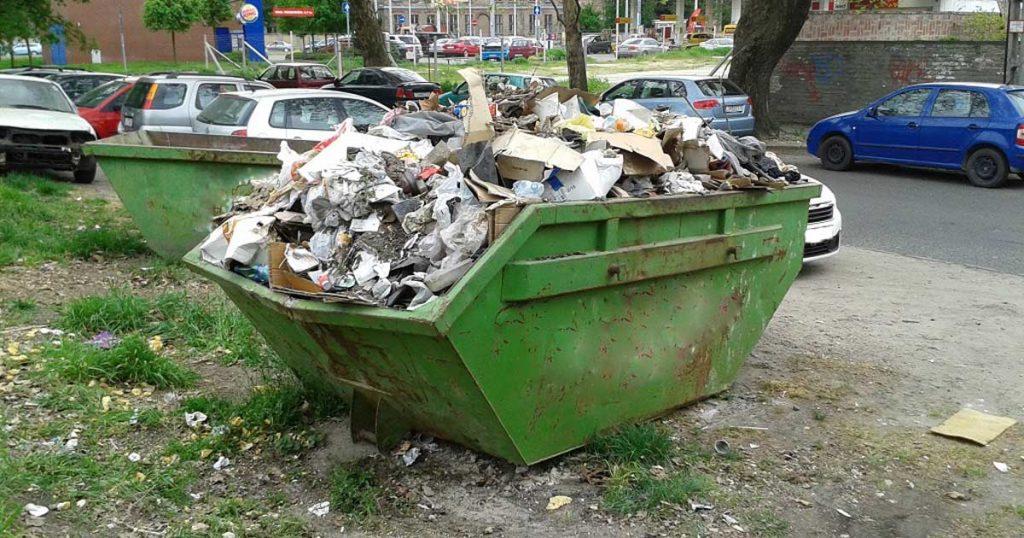 Konténer rendelés hulladékelszállítás