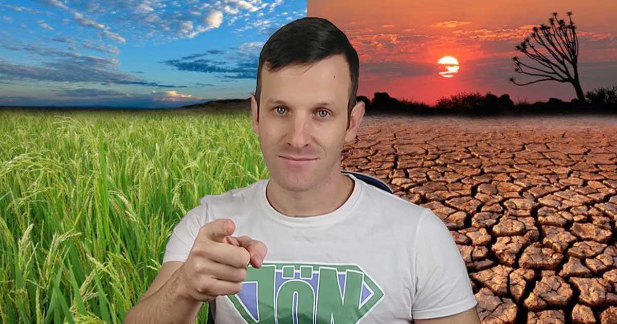 Szebenyi Péter - környezetvédelmi influencer