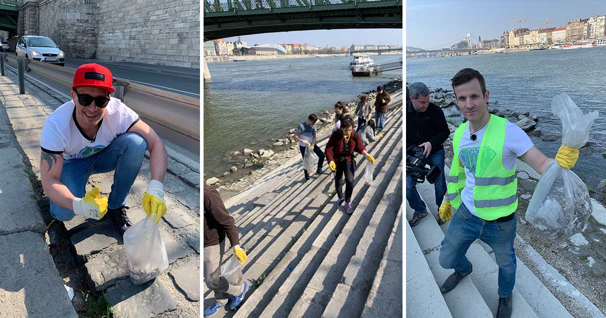 Ezernyi cigicsikktől mentesült a Duna-part