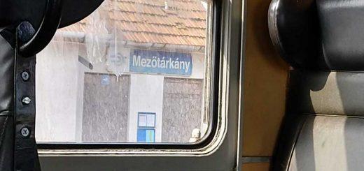 Mezőtárkány vasútállomás szemétdombja