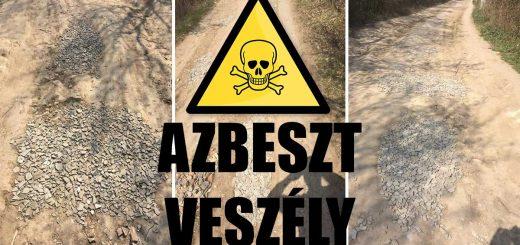 Azbesztpala por mérgezheti a biatorbágyiakat