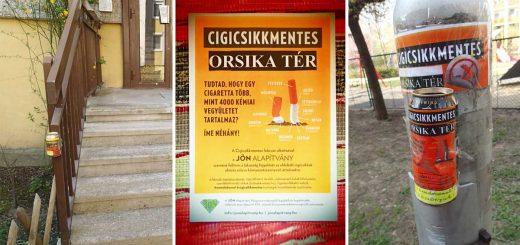 Cigicsikkmentes Orsika tér Centenáriumi lakótelepen