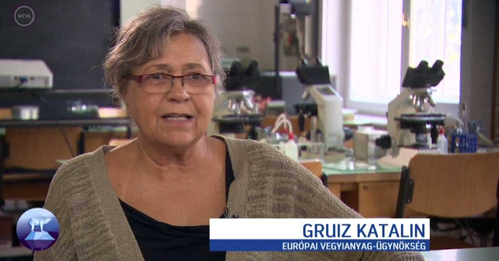 Gruiz Katalin megdöbbentő tényeket közölt a műsorban. / Fotó: MTVA