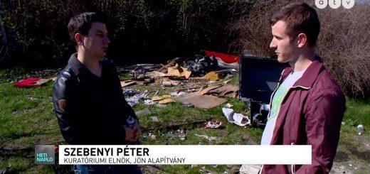 Szemetelőkrízis Magyarországon | Atv - Heti Napló