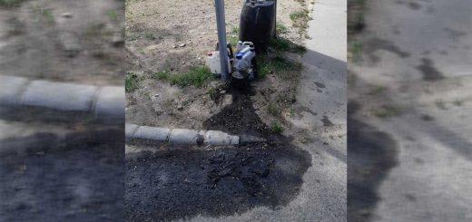 Vegyi szennyezés a kőbányai Takarék utcából