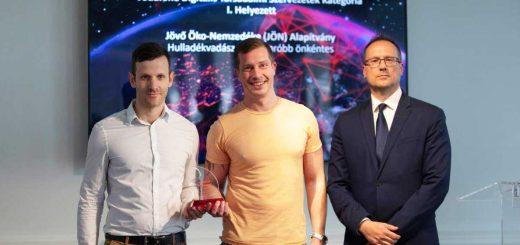 Vodafone Digitális Díj nyertese a Hulladékvadász!