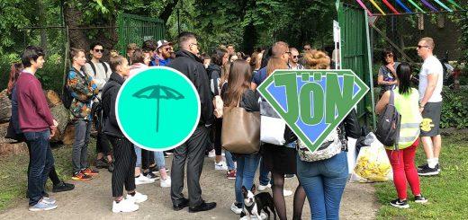 110 fiatal tette tisztába a Margitszigetet