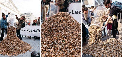 240 önkéntes 270 000 csikket gyűjtött össze Brüsszelben