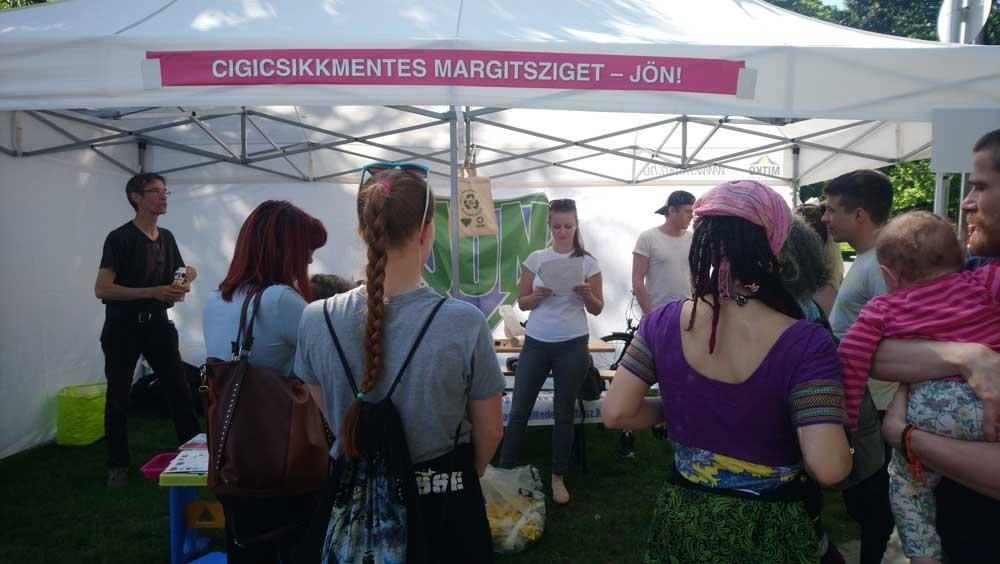 Cigicsikkmentes Margitsziget - JÖN! és a balesetvédelmi oktatás.