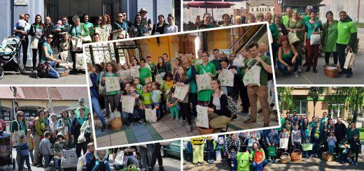 Csomagolásmentes flashmobok országszerte