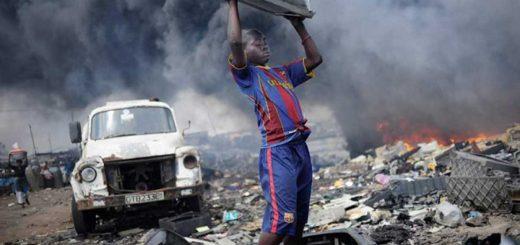 Ghána táplálékláncát mérgezi Európa e-hulladéka