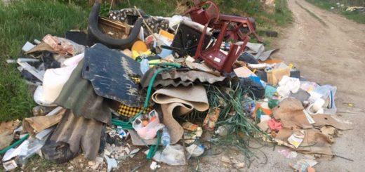 Nagysáp földútja illegális hulladékteleppé változott