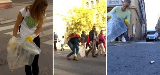 Cigicsikkmentes Budapestért - JÖN akció volt az Autómentes napon