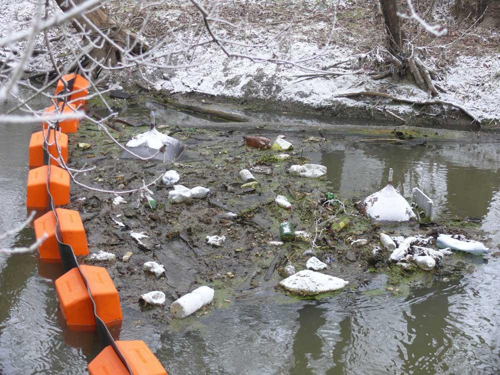 A Zagyva folyó hulladékszennyezettsége a szakértőket is meglepte. / Fotó: facebook.com/kotivizig1