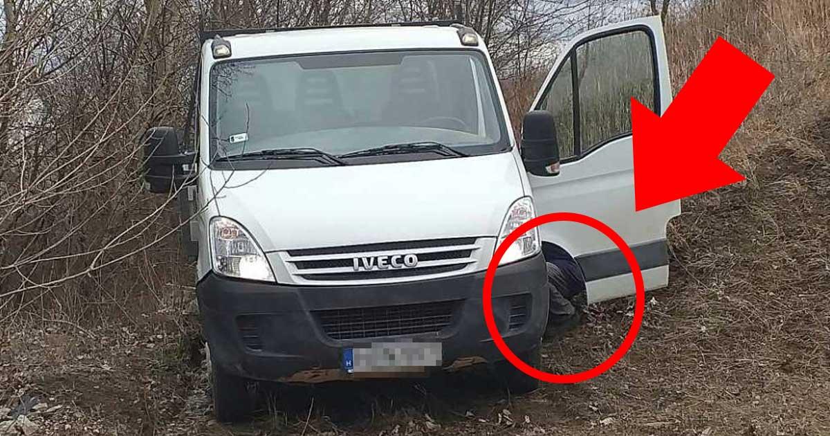 Az elkövető elbújt a gépjárműve ajtaja mögé. Szégyellje is magát!