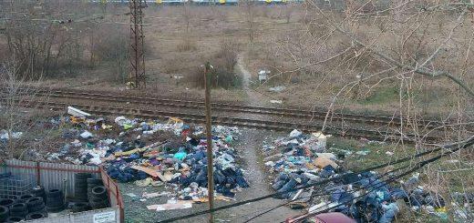 Vasúti árok brutális mennyiségű hulladéka   Zugló