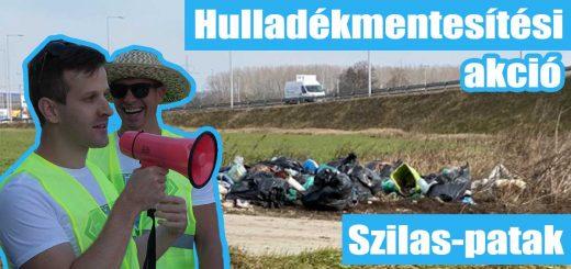 Hulladékmentesítési akció: Szilas-patak