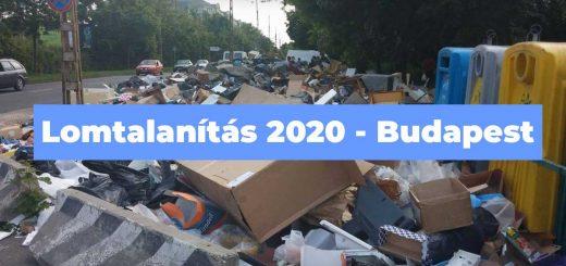 Lomtalanítás 2020 helyszínei Budapesten