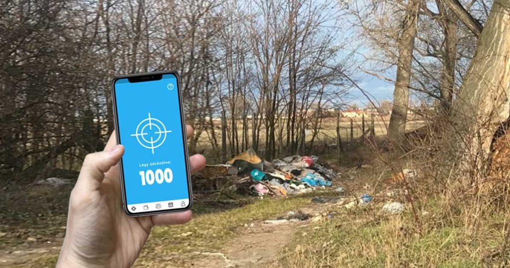 Siker: 1000 regisztrált Hulladékvadász 1 hónap alatt