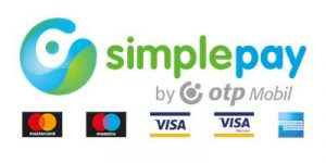 Bankkártyás fizetés OTP Simplepay segítségével.